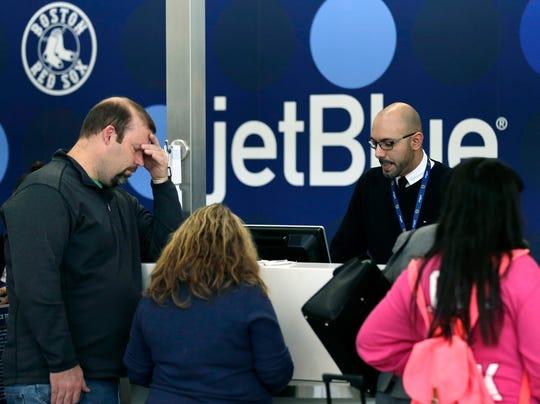 AP Deep Freeze JetBlue