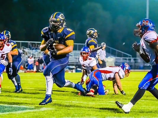 Mason vs DeWitt Football