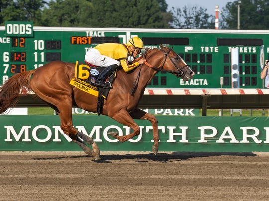 Good Magic ridden by Jose Ortiz, romps home to victory