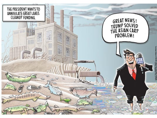 Trump and the destruction of the Great Lakes