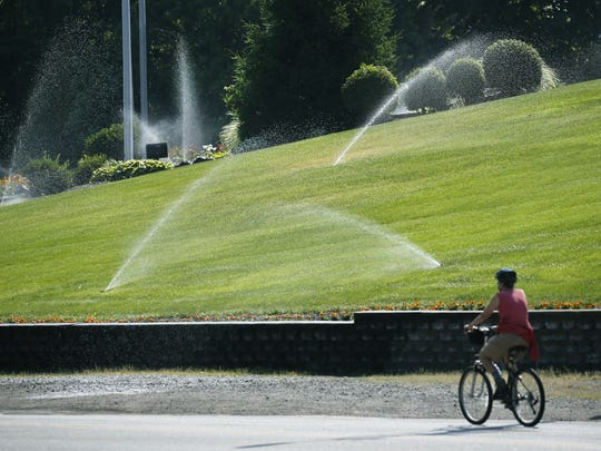 Sprinklers are at full throttle at Monroe County Water