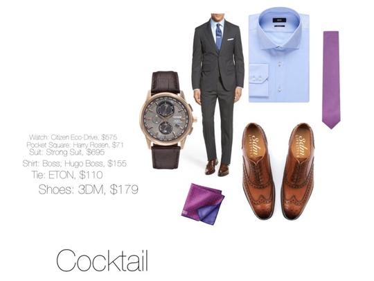 Dress Code: Cocktail (men)