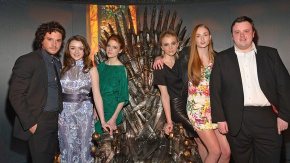 While visiting a 'Game of Thrones' exhibit in New York
