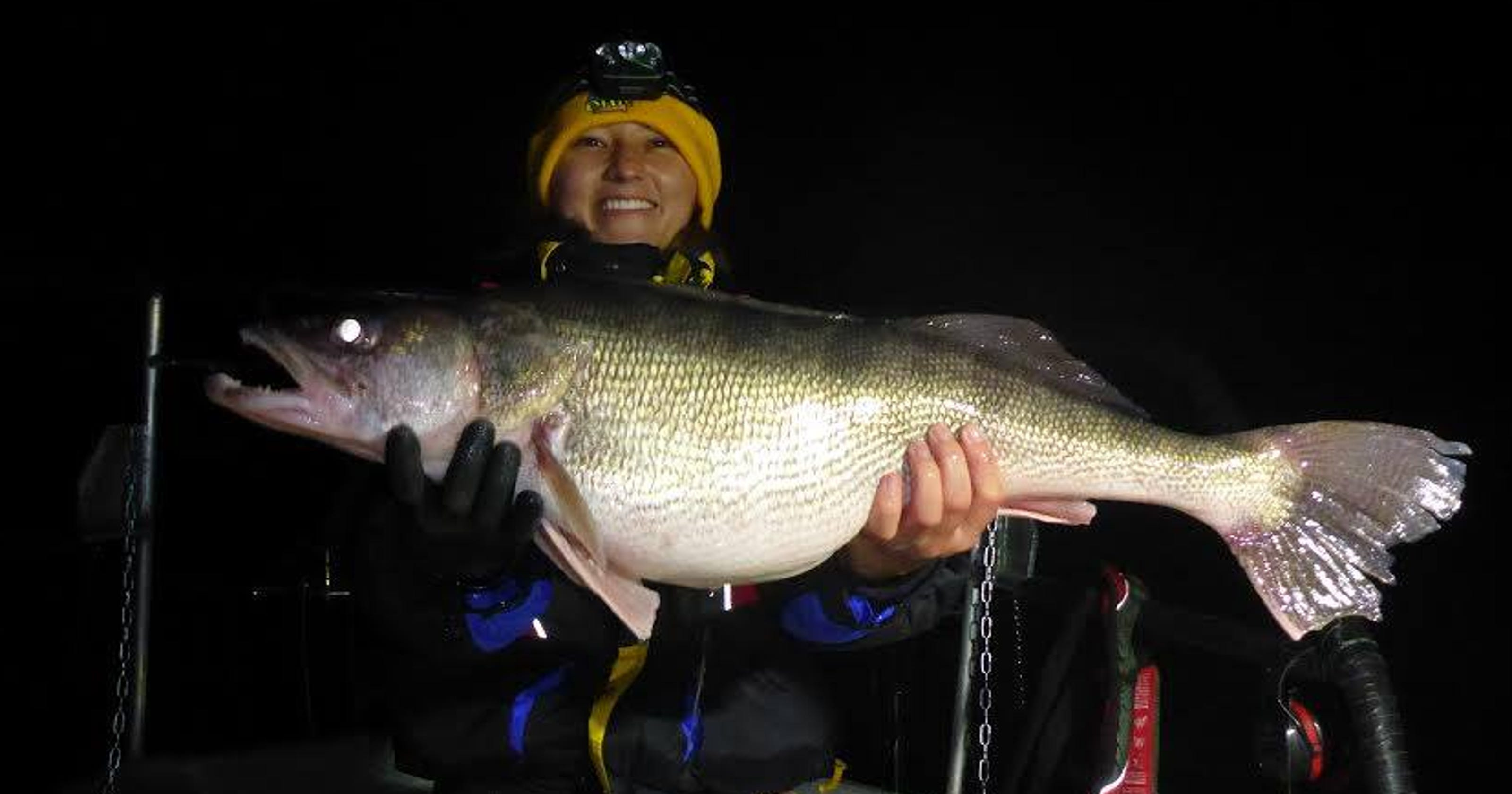 This monster fish was caught in Iowa, but it wasn't the