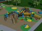 A rendering for a new accessible playground at Chaparral