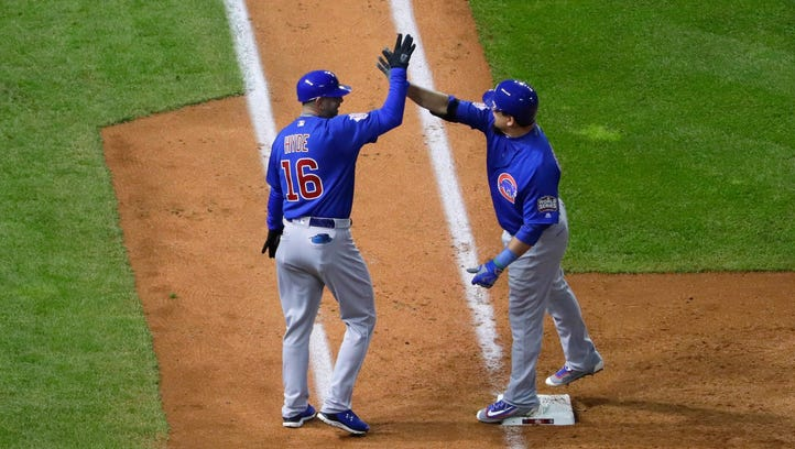 Arrieta, Cubs stifle Indians to square Series