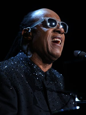 "Stevie Wonder performs his ""Songs in the Key of Life"" album at the Palace of Auburn Hills on Nov. 20, 2014."