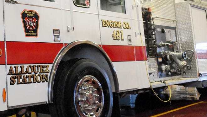 A house fire in Allouez on Sunday morning has been blamed on faulty wiring.