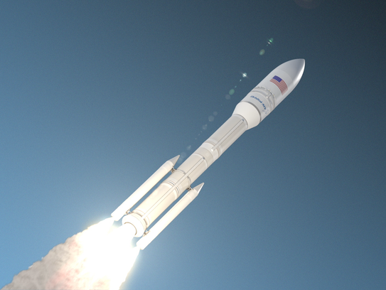 Concept image of Orbital ATK's Next Generation Launch