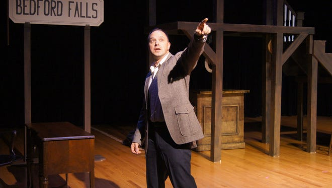 "Jeremy Kendall, will bring ""This Wonderful Life"" to the Centers for Performing Arts at 8 p.m. Saturday, Dec. 17."