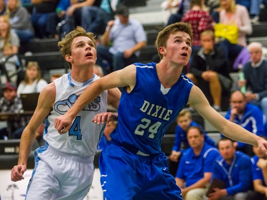High School Boys Basketball: Dixie at Canyon View,