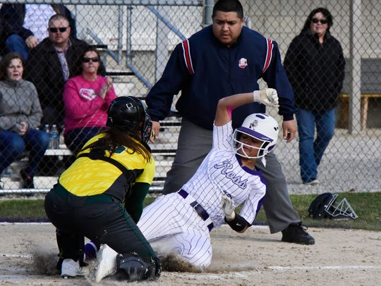 Fremont Ross third baseman Braelyn Horn earned first-team all-TRAC status.