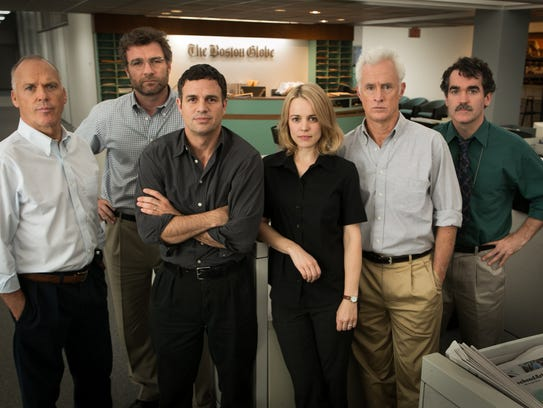 'Spotlight' wins for best picture.
