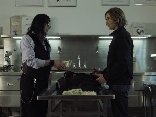 """Tommy Wiseau, left, and Greg Sestero in """"Best F(r)iends."""""""