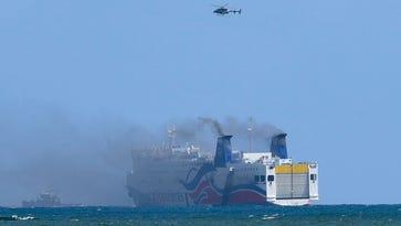 NTSB: Puerto Rico ship fire revealed maintenance problems, poor crew training