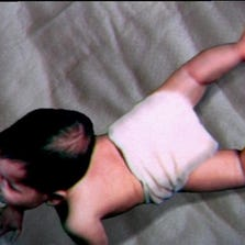 Baby in diaper