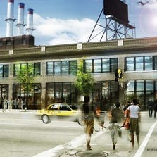 A rendering of the HopCat brewery and restaurant scheduled to open Nov. 15 on Woodward in Midtown Detroit.