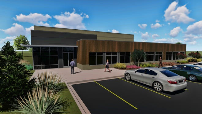 A rendering shows what the new Connoils facility in Big Bend will look like. Connoils, a manufacturer and distributor of nutritional bulk oils, oil powders, softgels and specialty ingredients, is planning to move from the town of Waukesha to a new, 24,000-square-foot facility in Big Bend. The company also plans to grow hemp on 1 to 2 acres of its property for use in its products.