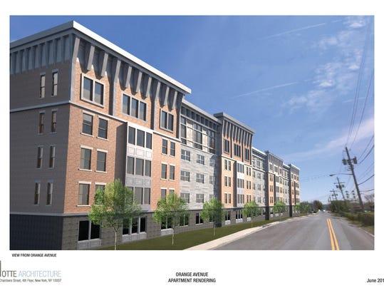 Apartment Building Agreement suffern: orange avenue apartments get go-ahead