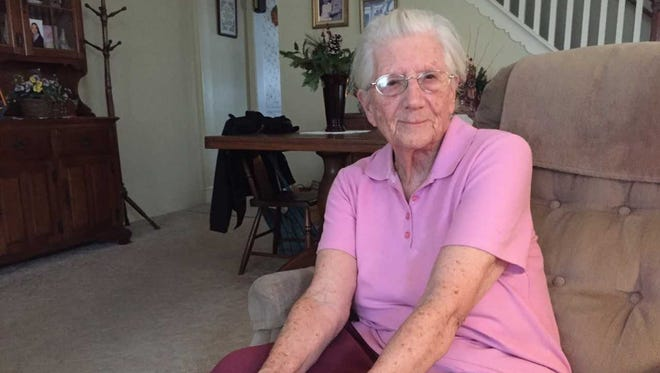 Dorothy Sharp was an English war bride, meeting her husband Jay while he was station near her hometown during World War II. She left her family and hometown behind for life in America.