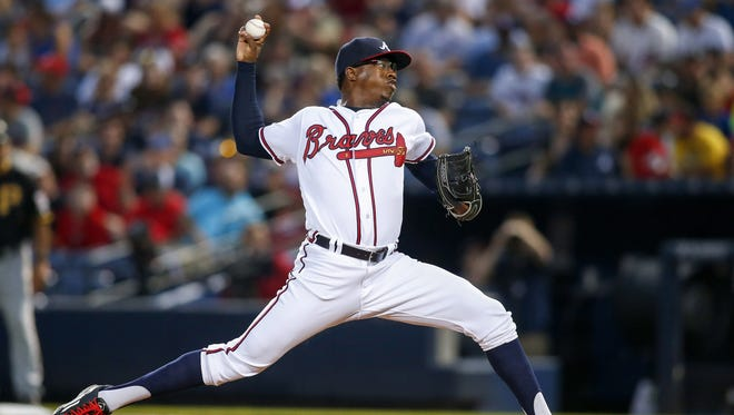 Tyrell Jenkins made his big-league debut in 2016 for the Braves.