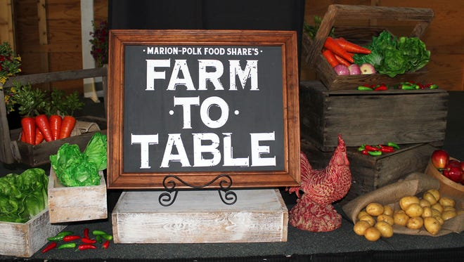 Funds raised through Marion-Polk Food Share's annual Farm to Table Dinner and Auction support the organization's mission of increasing food access.