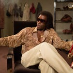 """A Rolling Stone journalist (Ewan McGregor, right) watches his life intertwine with jazz legend Miles Davis (Don Cheadle) in """"Miles Ahead."""""""
