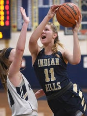 Senior F Angela Saric is one of Indian Hills' key returning