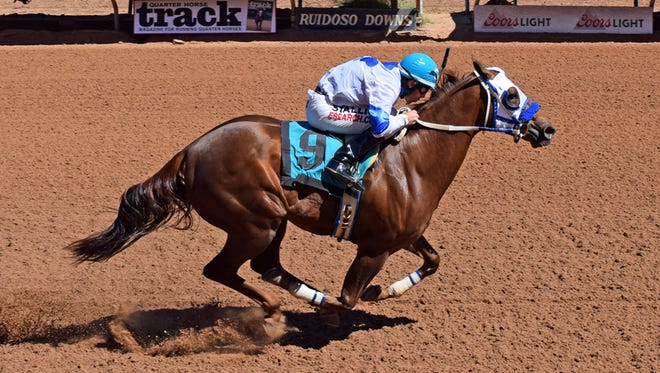 High Rate Of Motion and Eagle Jazz winning their Ruidoso Futurity trials.