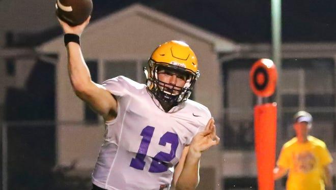 Smyrna senior quarterback John Turner is an MTSU commit.