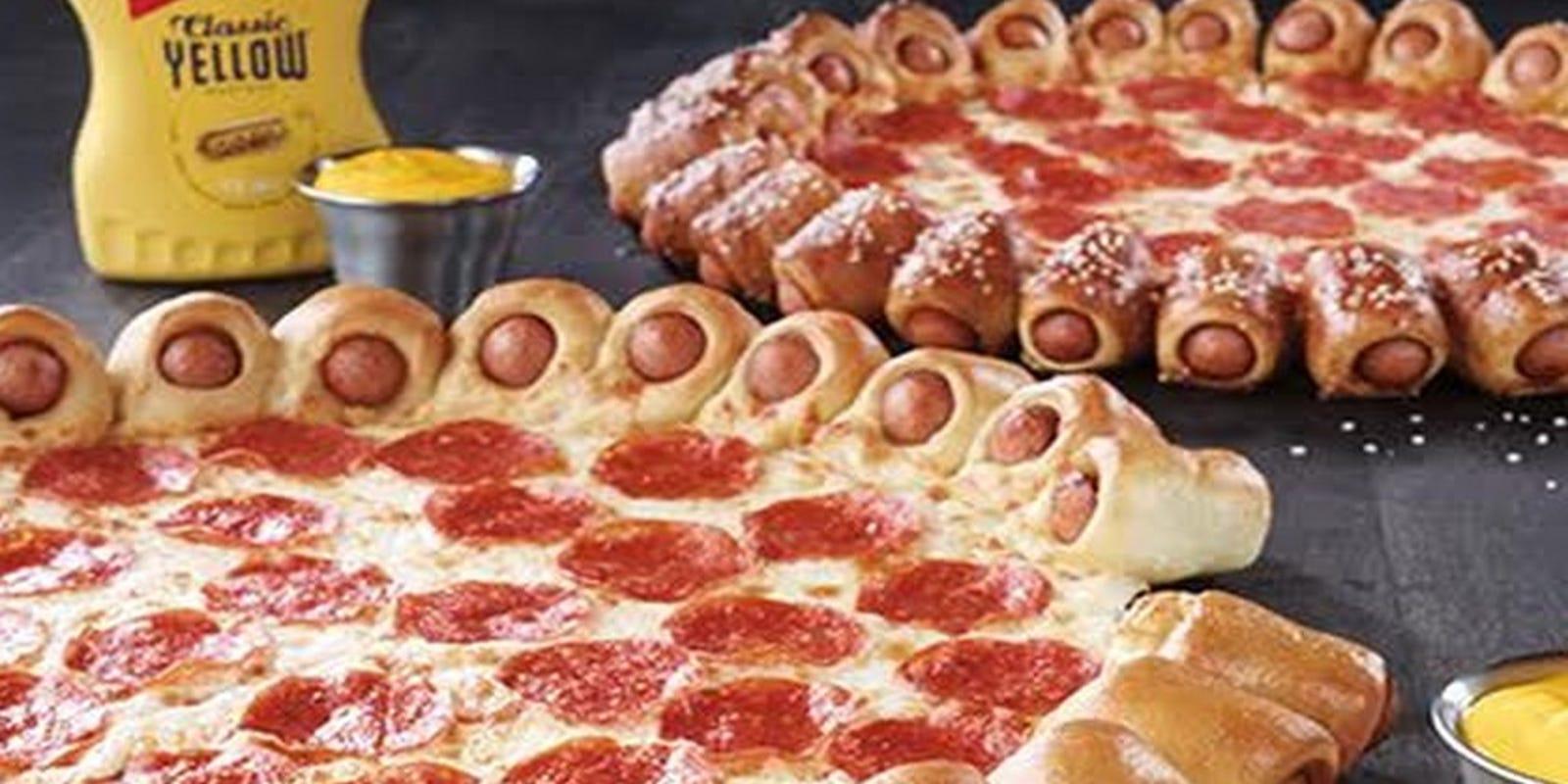 Hot Dog Pizza Hut Unveils Unique Menu Item