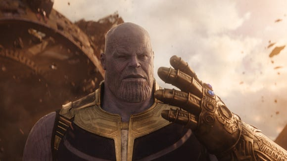 Thanos (Josh Brolin) has two Infinity Stones in his