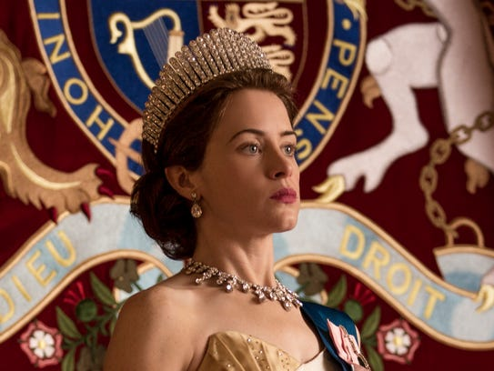 Claire Foy as Elizabeth II on 'The Crown.'