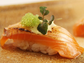 A tempting slice of sushi from Boston's o-ya, the no. 6 restaurant as ranked by OpenTable users.