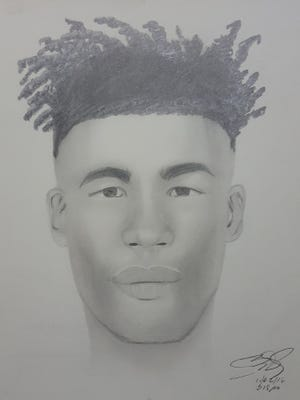 The New Castle County Police, Criminal Investigation Unit, has released a composite sketch of the suspect involved in multiple indecent exposures in Glasgow Park.