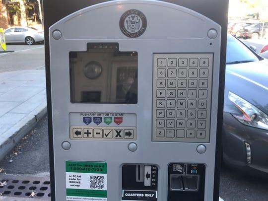 Scarsdale's parking meter pilot program consists of