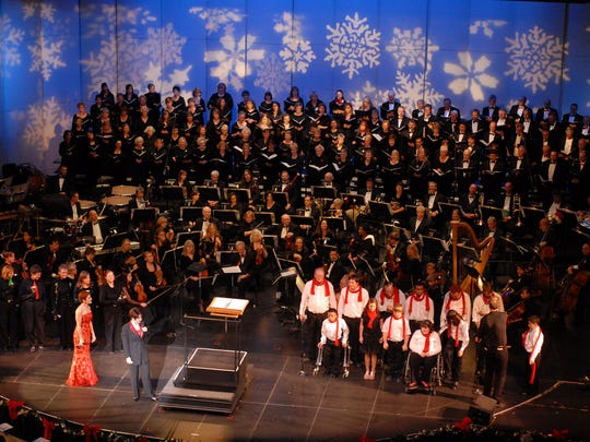 The Reno Philharmonic Orchestra, the Reno Philharmonic Chorus, local performers and musicians participate in Spirit of the Season, Dec. 3 and Dec. 4 at the Pioneer Center for the Performing Arts.