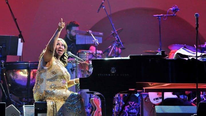 'A classy show': Inside Aretha Franklin's final Iowa concert