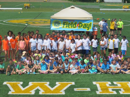 Field Day Fun… Lower School students at The Wardlaw-Hartridge