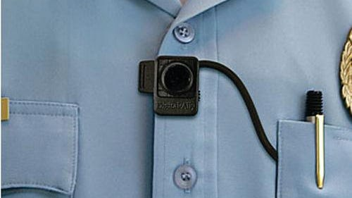 A FirstVu HD body camera — one type of device the city could consider for Rochester police.