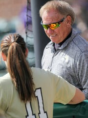 Anderson coach Tommy Hewitt led the Trojans to three-straight NCAAs appearances before going 29-21 last season.