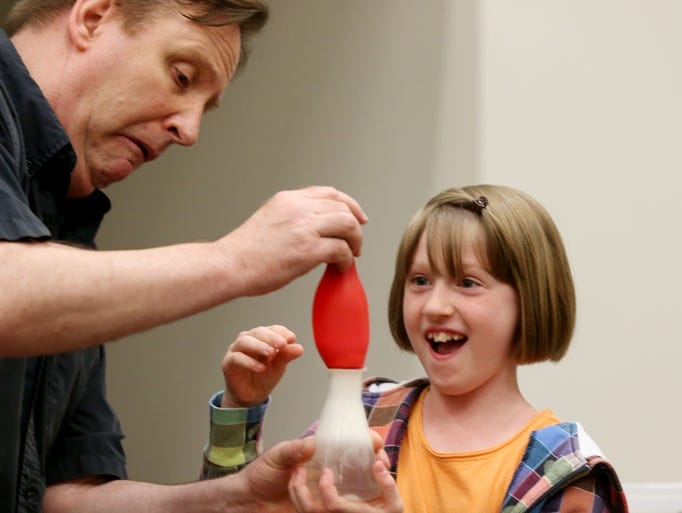 19 photos mad science at johnston library for A t the salon johnstone