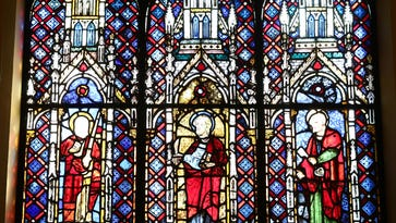 Stained-glass windows offer glimpse into liturgical light