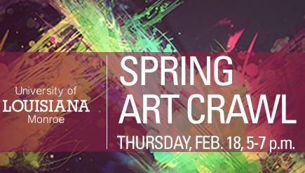 ULM Spring Art Crawl