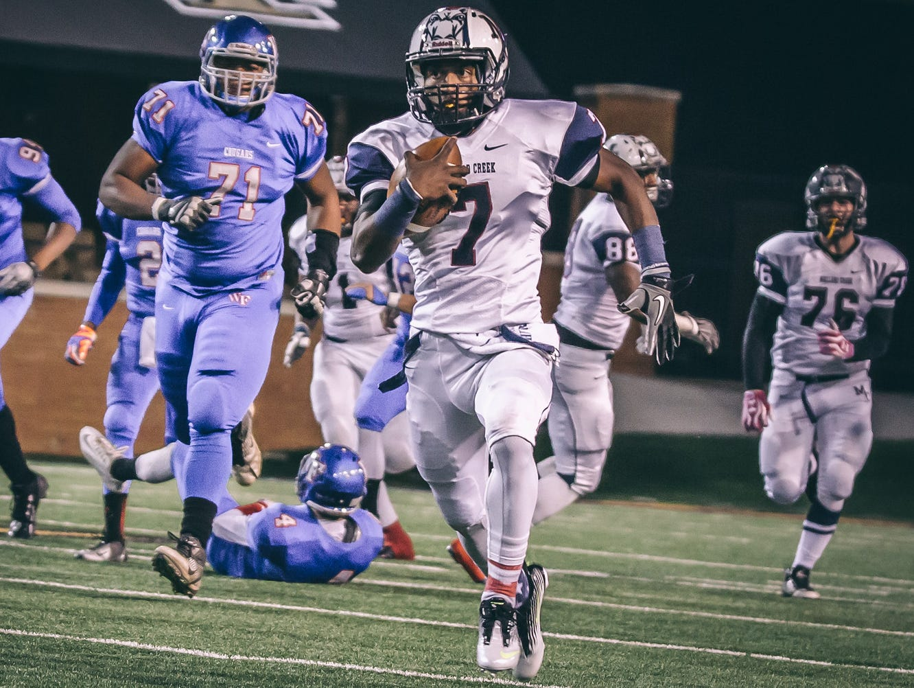 Mallard Creek had two players named to the 2014 all-state team.