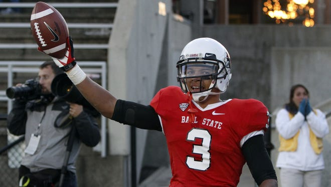 Ball State's Willie Snead owns one of the two receiver spots on our 25-year anniversary team.