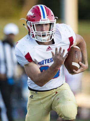 Sophomore Brandon Dodson (20) will look to help Martinsville end its sectional drought.