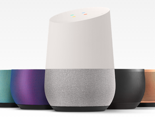 Google Home powered by Google Assistant is a voice-activated
