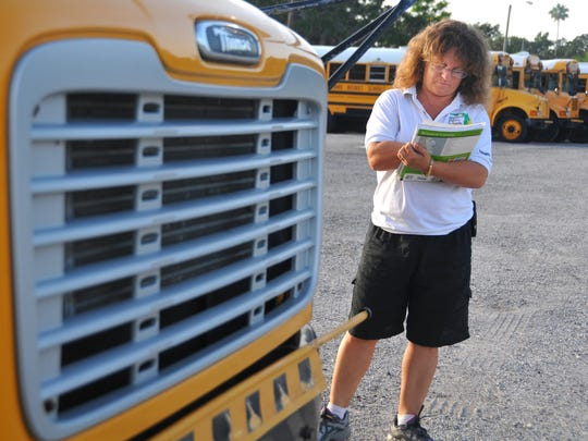 Bus drivers are among the school-based employees getting a raise.