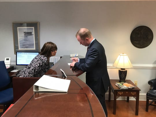 John Warren files to run for governor of South Carolina